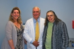 With Megan Smith-Harris and Dr. R. Michael McClellan, my surgeon of 32years
